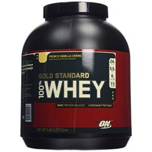 Optimum nutrition Protéine 100% Whey Gold Standard Française Vanille Crème 2,2 kg