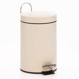 Kela Poubelle de salle de bain en métal 3 L