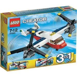 Lego 31020 - Creator 3 en 1 : L'avion à double hélices