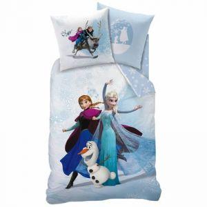 Parure de lit avec taie Enjoy La Reine des Neiges (140 x 200 cm)