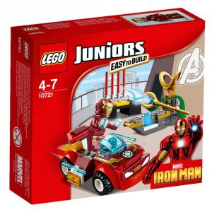 Lego 10721 - Juniors : Iron Man contre Loki