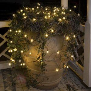 Konstsmide 3679-107 - Filet lumineux micro LED 80 lampe (largeur 2m)