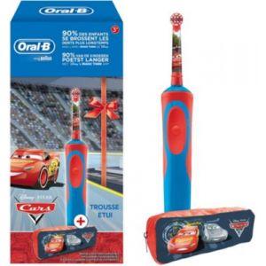 Oral-B Brosse à dents électrique Cars + trousse Cars