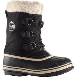 Sorel Bottes neige enfant YOOT PAC NYLON Noir - Taille 36,37,38,39,32,33,34,35