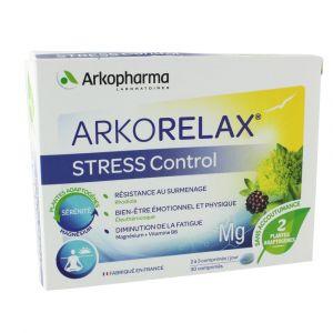Arkopharma ArkoRelax Stress Control - 30 comprimés