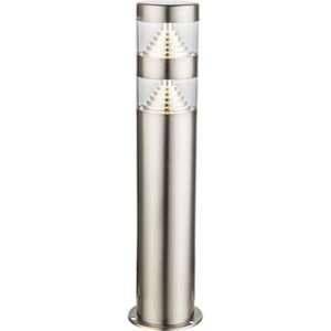 Globo Lighting Borne extérieure inox - Plastique translucide - IP44
