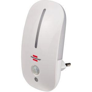Brennenstuhl Veilleuse LED NL 09 MB avec détecteur de mouvements et capteur crépusculaire 9 LED 25lm