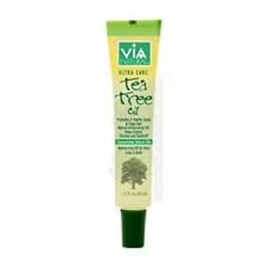 VIA Natural Ultra Care Tea Tree Oil Concentrated Natural Oil 1.5oz - Promotes A Healthy Scalp