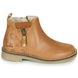 Kickers Boots enfant NYKKI - Couleur 28,29,30,31,32,33,34 - Taille Marron