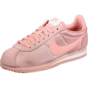 online store 623cd 2a74e Nike Classic Cortez 15 Nylon W chaussures rose blanc 40 EU