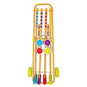 Oasis Jeu de croquet 4 joueurs