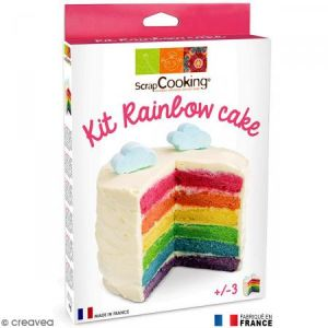 Scrapcooking Kit Rainbow cake