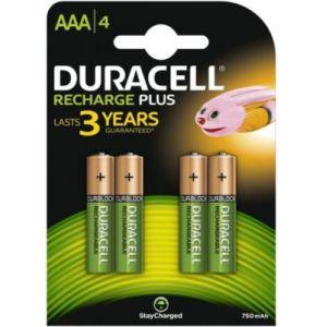 Duracell Recharge AAA 750 mAh (par 4)