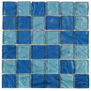 Mosaïque Lande 30 x 30 cm Bleu