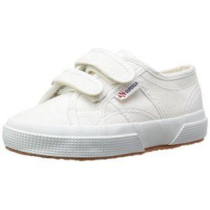 Superga 2750-Jvel Classic, Chaussures de Tennis mixte enfant, Blanc (901 White), 32 EU