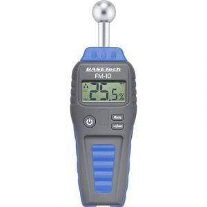 Basetech Humidimètre pour matériaux BT-1629564 Construction: 0.1 à 99.9 % vol Bois: 0.1 à 99.9 % vol 1 pc(s)
