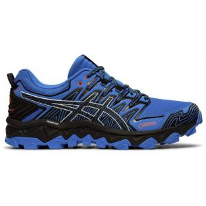Asics Gel-FujiTrabuco 7 GTX - Chaussures de trail taille 11,5, bleu/noir