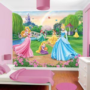 Walltastic Papier Peint Princesse Disney (244 x 305 cm)   Comparer