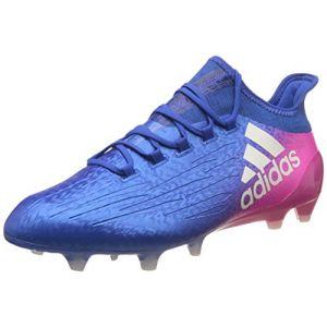 Adidas X 16.1 FG, Chaussures de Football Homme - Bleu (Blu Azul/ftwbla/Rosimp), 44 EU