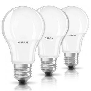 Osram Ampoule LED unicolore E27 9 W = 60 W blanc chaud