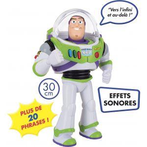 Lansay Figurine sonore 30 cm Toy Story Buzz l'éclair parlant