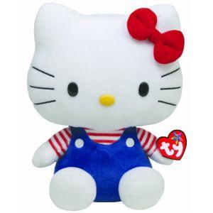Ty Peluche Hello Kitty Bleu 33 cm