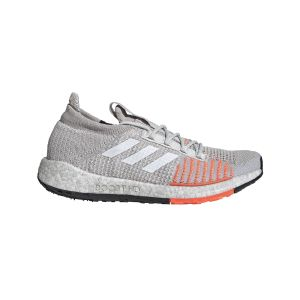 Adidas Running Pulseboost Hd - Grey One / Ftwr White / Hi Res Coral - Taille EU 40