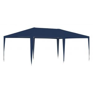 VidaXL Tente de réception 4x6 m Bleu
