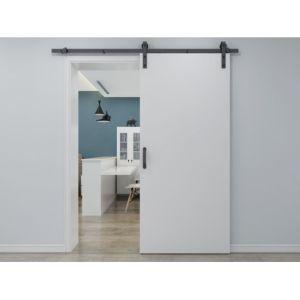 Porte coulissante en applique VARIN H205cm x L93cm MDF + PVC Blanc