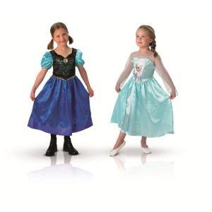 Déguisement duo Anna et Elsa La Reine Des Neiges