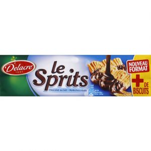 Delacre Le sprits chocolat lait - Le paquet de 200g
