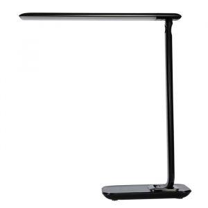 Brilliant AG Lampe de bureau Nadim tactile avec port USB - Noir