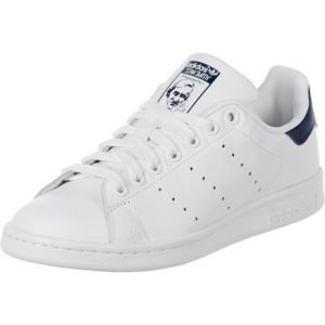 Adidas Originals Stan Smith, Sneakers Basses Mixte Adulte, Blanc (Running White/Running White/New Navy), 36 EU