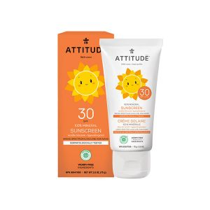 Attitude Crème solaire 100% minérale SPF 30 75 g