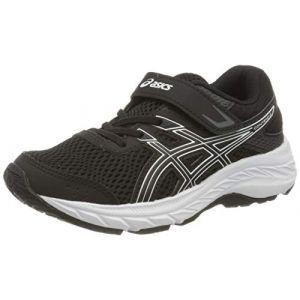 Asics Gel - Contend 6 Ps Black / White Enfants Taille 34.5