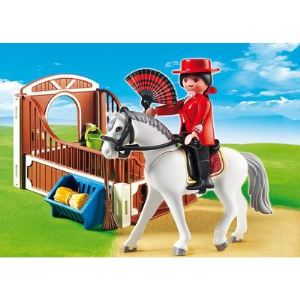 Playmobil 5521 Country - Cheval Andalou et son paddock