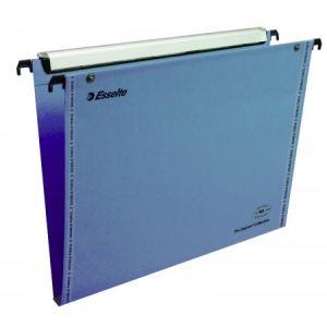 Esselte 49946 - VMG Boîte de 25 Dossiers suspendus Bleus verticaux Orgarex VisioPlus