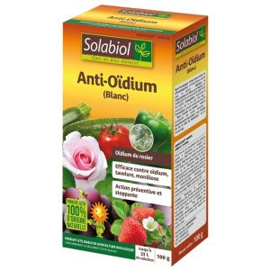 Solabiol Anti-Oïdium - Blanc, 100g (100% Bio)