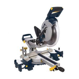GMC Scie à onglet radiale à double barre coulissante 255 mm, 1 600 W - GM255S