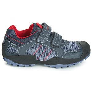 Geox Baskets basses enfant J NEW SAVAGE BOY bleu - Taille 30,31,32,33,34,35