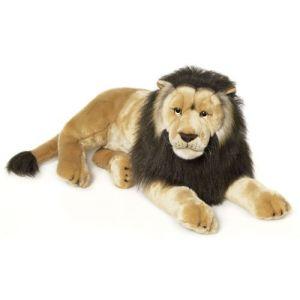 WWF Peluche Lion couché 81 cm
