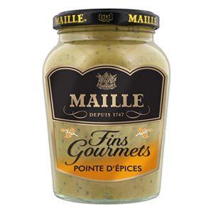 Maille Fins Gourmets Spécialité Moutarde Pointe d'Epices 340 g