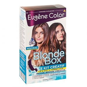 Eugène Color Blonde Box - Kit créatif de coloration pour réaliser Tie & Dye ou Ombré Hair