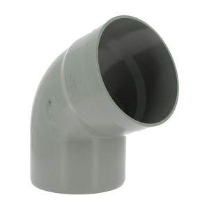 Adequa Coude PVC mâle-femelle 67°30 O200
