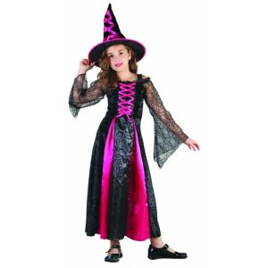 Déguisement sorcière robe pour fille