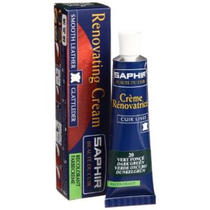 Saphir Crème rénovatrice 25 mL - vert foncé