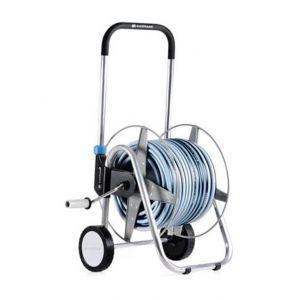 Cellfast Chariot de jardin bobine arrosage panier + 25m tuyau