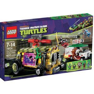 Lego 79104 - Tortues Ninja : La course poursuite en Sheelraiser