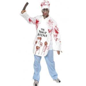 Déguisement zombie chef cuisinier (taille S)