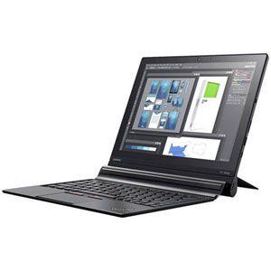 "Lenovo ThinkPad X1 Tablet 20JB - Tablette - avec clavier détachable - Core i7 7Y75 / 1.3 GHz - Win 10 Pro 64 bits - 8 Go RAM - 512 Go SSD TCG Opal Encryption 2, NVMe - 12"" IPS écran tactile 2160 x 1440 (Full HD Plus) - HD Graphics 615 - Wi-Fi, Bluetooth"